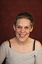 Portrait of laughing woman - FBF000358