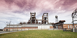 Germany, North Rhine-Westphalia, Dortmund-Hoerde, Phoenix West, abandoned blast furnace steelmill - WI000587