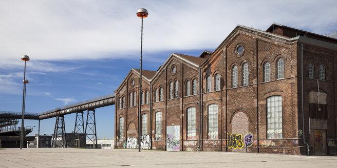 Germany, North Rhine-Westphalia, Dortmund-Hoerde, Phoenix West, Phoenix Park, Industrial hall, Phoenix hall - WI000589