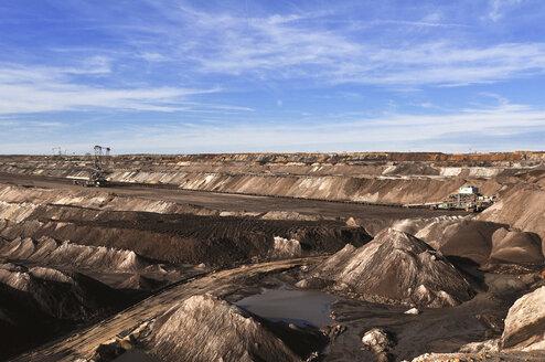 Germany, Saxony, Leipzig, Brown coal mining - SCH000161