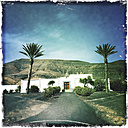 Cemetery entrance at Morro Jable Fuerteventura, Spain - DRF000665