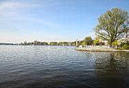 Germany, Hamburg, Alster in spring - KRPF000442
