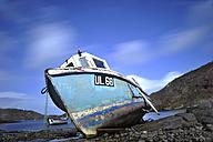 UK, Scotland, Boat at sea - FD000062