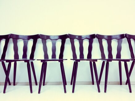 Chairs in a row, Studio - RIMF000266