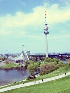 Olympic Tower, TV Tower, Olympic Park, Munich, Germany - RIMF000271