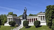 Germany, Bavaria, Munich, Ruhmeshalle with Bavaria - RDF001274