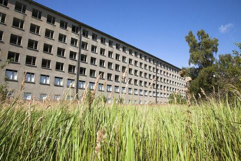 Germany, Mecklenburg-Western Pomerania, Ruegen, Prora, old building - FCF000070
