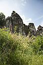 Germany, North Rhine-Westphalia, Teutoburg Forest, Externsteine - FCF000079