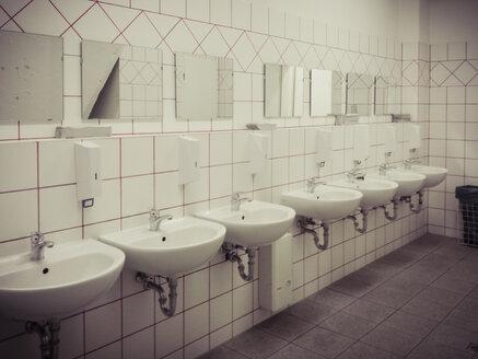 Toilets, Public, sink, mirror, laundry room - MJ001033