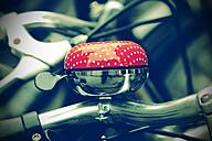 Germany, North Rhine-Westphalia, Muenster, bicycle bell - HOHF000745
