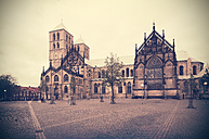 Germany, North Rhine-Westphalia, Muenster, Muenster Cathedral - HOHF000746