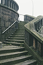 Germany, Hamburg, Staircase to Freihafenelbbruecke - MSF003818