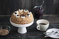 Frankfurt crown cake on cake stand - IPF000113