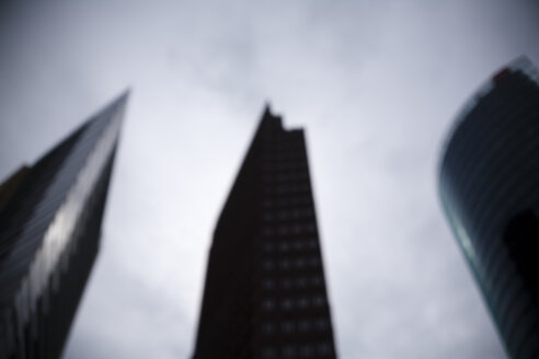 Germany, Berlin, Potsdamer Platz, High-hrise buildings, blurred - DISF000819
