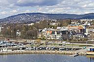 Scandinavia, Norway, Oslo, Cityview and harbour - JFEF000388