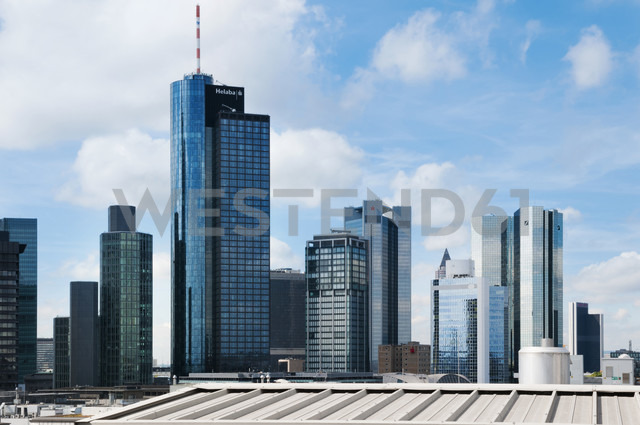 Germany, Hesse, Frankfurt, View of the financial district - CSTF000285