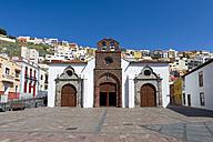 Spain, Canary Islands, La Gomera, San Sebastian, Church Nuestra Senora de la Asuncion - KLR000018