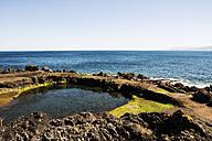 Portugal, Azores,Sao Miguel, Hot springs, Santo Antonio seawater pool - ONF000449