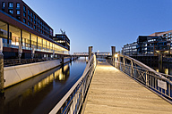 Germany, Hamburg, Ferry dock at Magdeburger Hafen in Hafencity - MSF003832