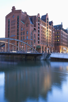 Germany, Hamburg, International Maritime Museum at Brooktorhafen in Hafencity - MSF003853