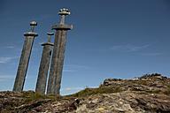 Norway, Rogaland, giant swords - TM000001