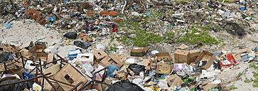 New Zealand, Chatham Island, Garbage at Kaingaroa harbour - SHF001196