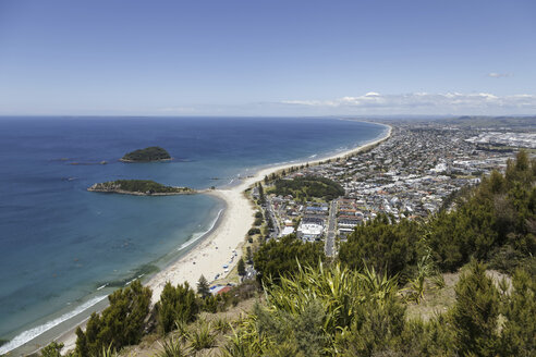 New Zealand, elevated view at Tauranga - STDF000062