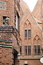 Germany, Bremen, Old town, Brick houses - CSTF000326