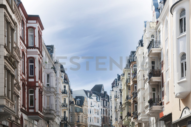 Germany, Schleswig-Holstein, Flensburg, Old town, Facades of houses - CSTF000329