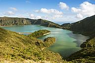 Portugal, Azores, Sao Miguel, Crater lake Lago di Fogo - ONF000534