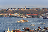 Turkey, istanbul, View to Topkapi Palace, Golden Horn - SIEF005355