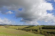 Italy, Tuscany, Province of Siena, Crete Senesi, Landscape near Taverne d'Arbia - KLRF000050