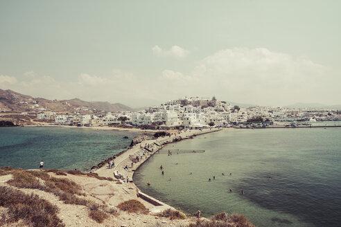 Greece, Cyclades, Naxos City, Harbour - KRPF000476
