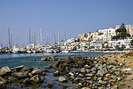 Greece, Cyclades, Naxos City, Harbour - KRPF000477