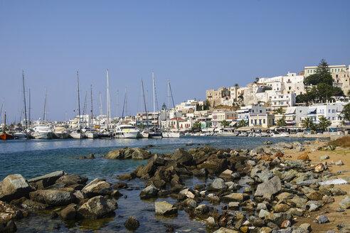 Greece, Cyclades, Naxos City, Harbour - KRPF000477