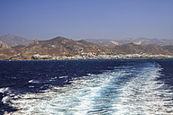Greece, Cyclades, Island, Naxos City and coast - KRPF000480
