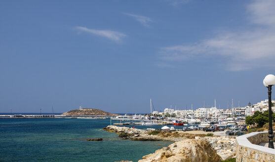 Greece, Cyclades, Naxos City, Harbour - KRPF000481