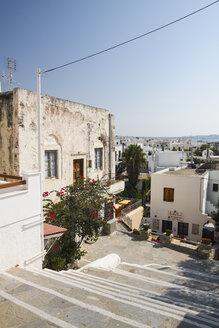 Greece, Cyclades, Naxos City, Houses - KRPF000483