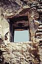 Greece, Cyclades, Naxos, Detail of a ruin - KRPF000470
