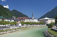 Austria, Upper Austria, Bad Ischl, Townscape with River Traun - WW003237