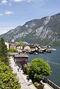 Austria, Upper Austria, Salzkammergut, Hallstatt, Lake Hallstaetter See - WW003284