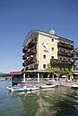Austria, Salzkammergut, Salzburg State, Lake Wolfgangsee, Hotel Weisses Roessl - WW003254