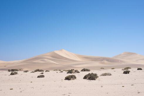 Africa, Namibia, Namib desert, Swakopmund, Dorob National Park, view to landscape - HLF000500