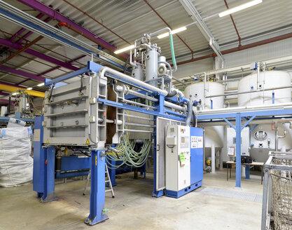 Germany, machine at hall of plastics industry - SCH000190