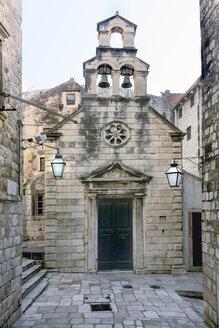 Croatia, Dubrovnik, view to Saint Nicholas church at historic old city - WEF000093