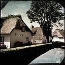 Germany, North Frisia, Foehr, Nieblum, thatched house (thatched house) in Friesendorf - MMO000196