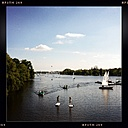 Germany, Hamburg, A summer's day on the Alster - MMO000131