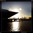 Germany, Hamburg, overlooking the Elbe, harbour - MMO000125