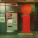 Germany, Hamburg, Info-Point in the subway station - MMO000007
