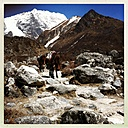 Nepal, Langtang Region, the road to Kyanjin Gompa - MMO000255